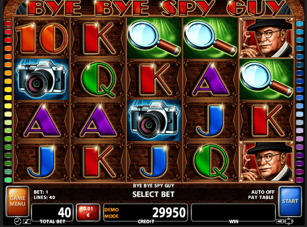 Bye Bye Spy Guy Slot Machine Online ᐈ Casino Technology™ Casino Slots