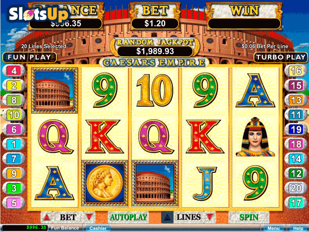 caesars online casino video slots