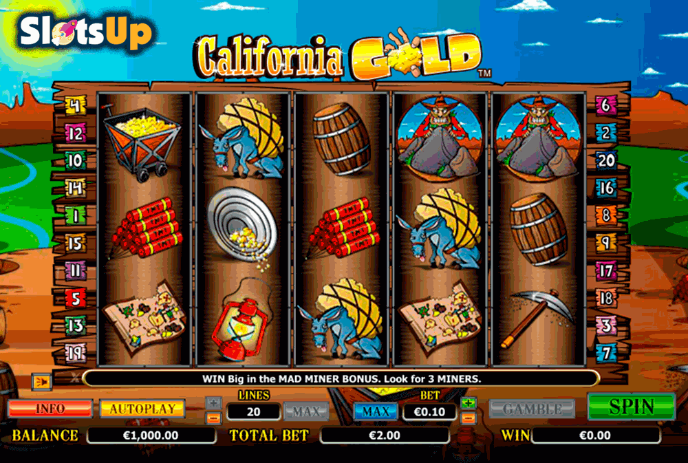 california gold nextgen gaming casino slots