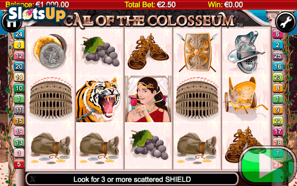 call of the colosseum nextgen gaming casino slots