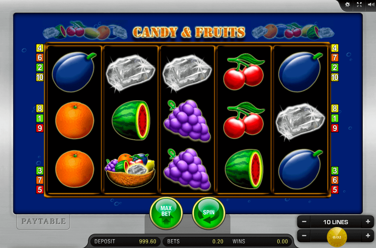 CANDY AND FRUITS MERKUR CASINO SLOTS