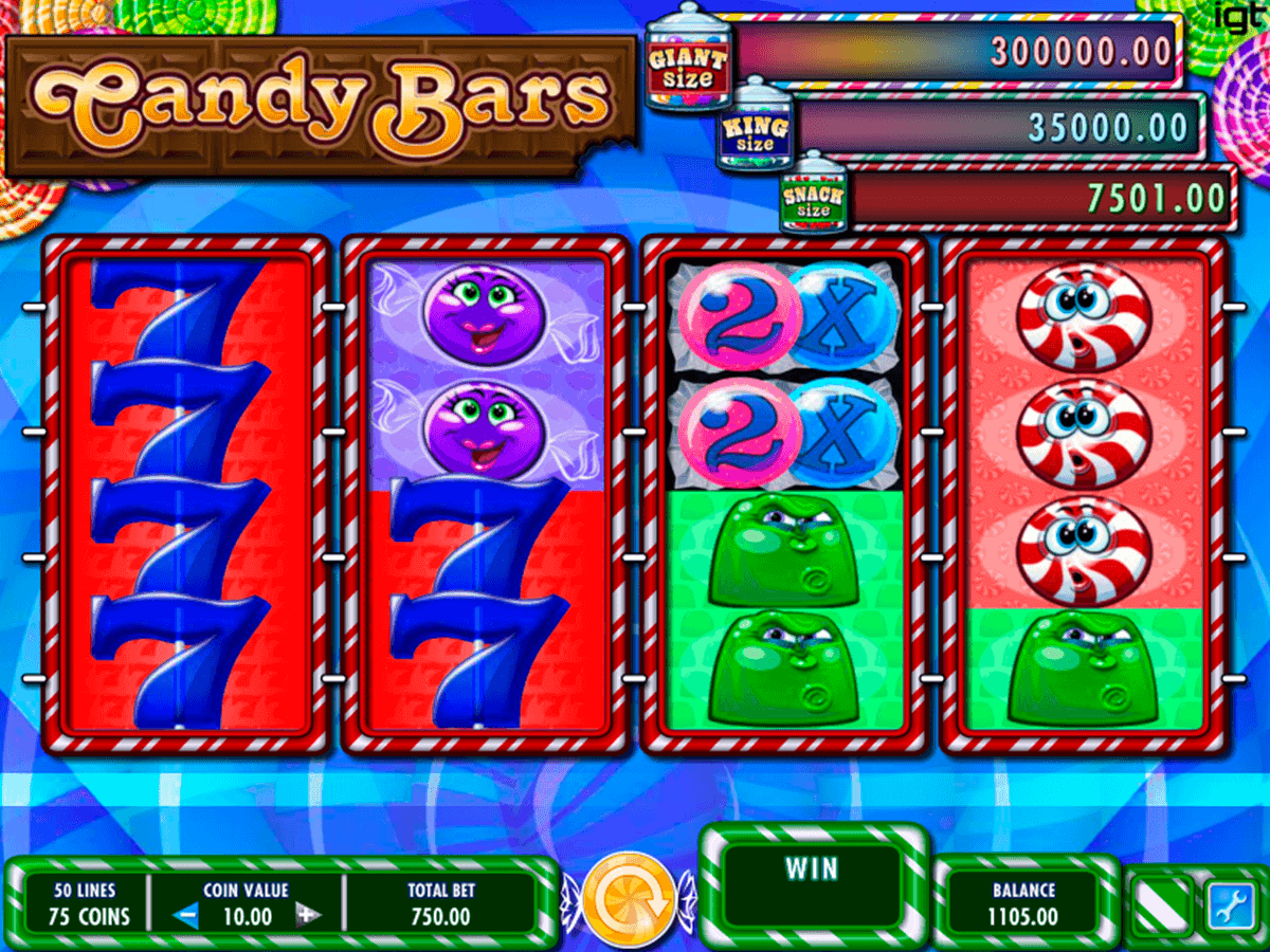 candy bars igt casino slots