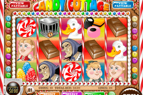 CANDY COTTAGE RIVAL CASINO SLOTS