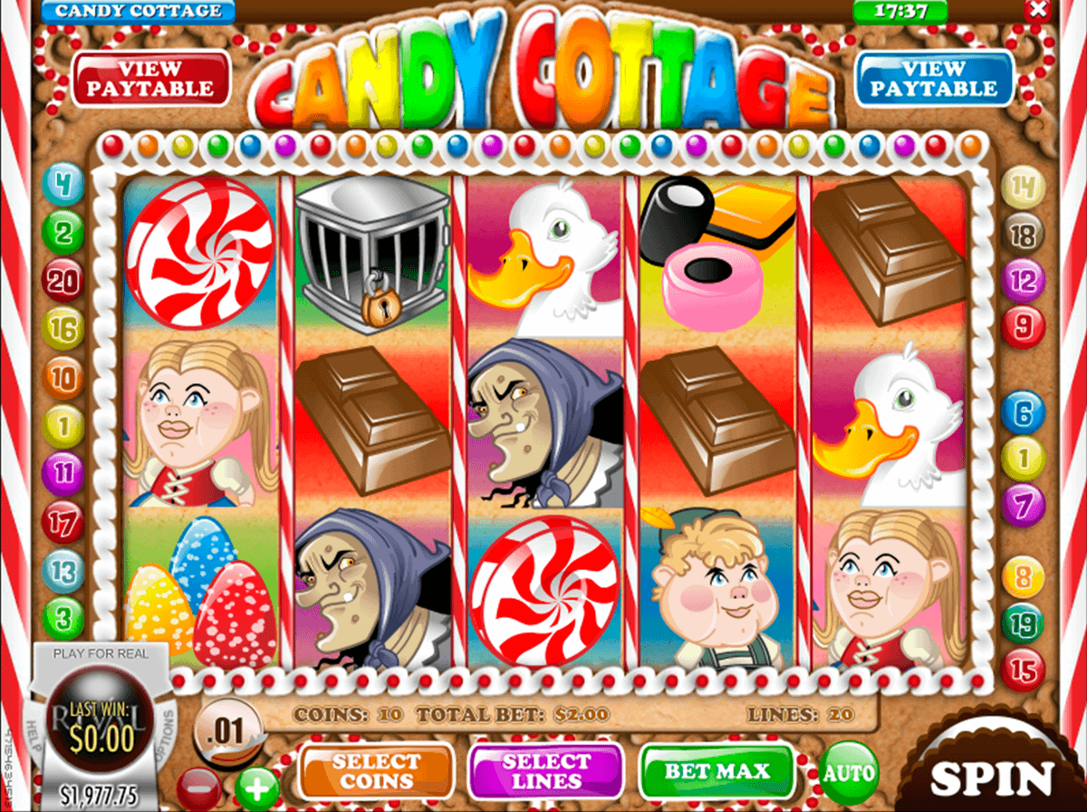Reel Candy Slot Machine - Play this Game for Free Online