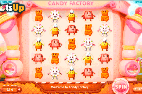 candy factory cayetano casino slots