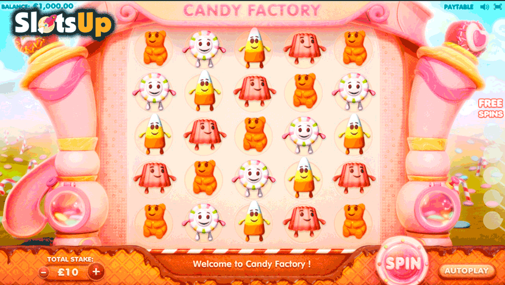 Candy factory cayetano casino slots winnings http: biz