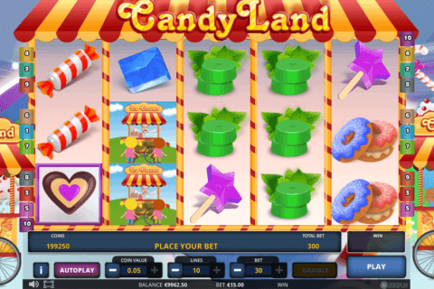 CANDY LAND ZEUS PLAY
