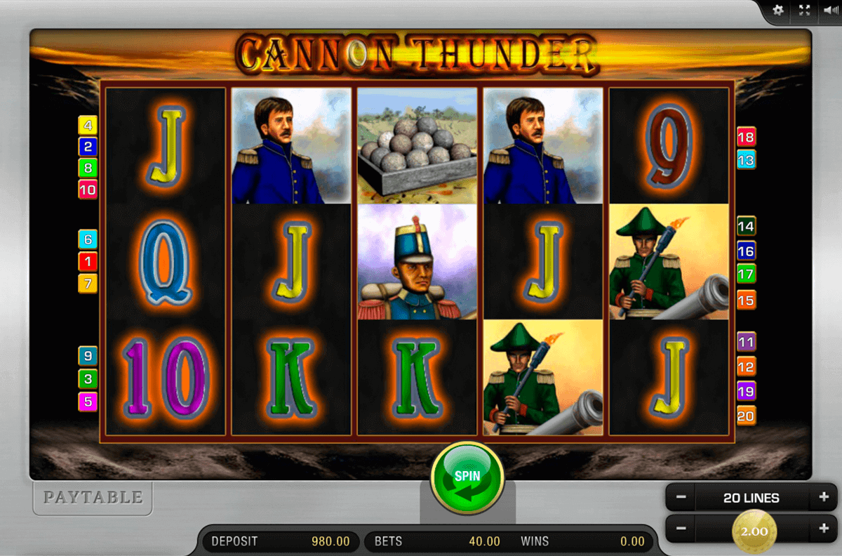 Thunder Storm Slot Machine - Play Real Casino Slots Online