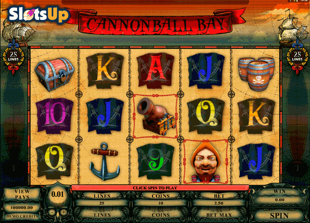 cannonball bay microgaming casino slots