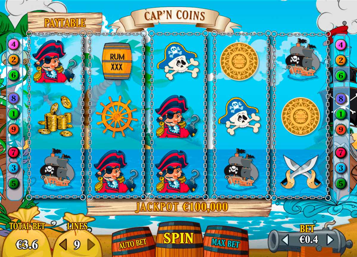 Capn Coins Slot Machine Online ᐈ Pariplay™ Casino Slots