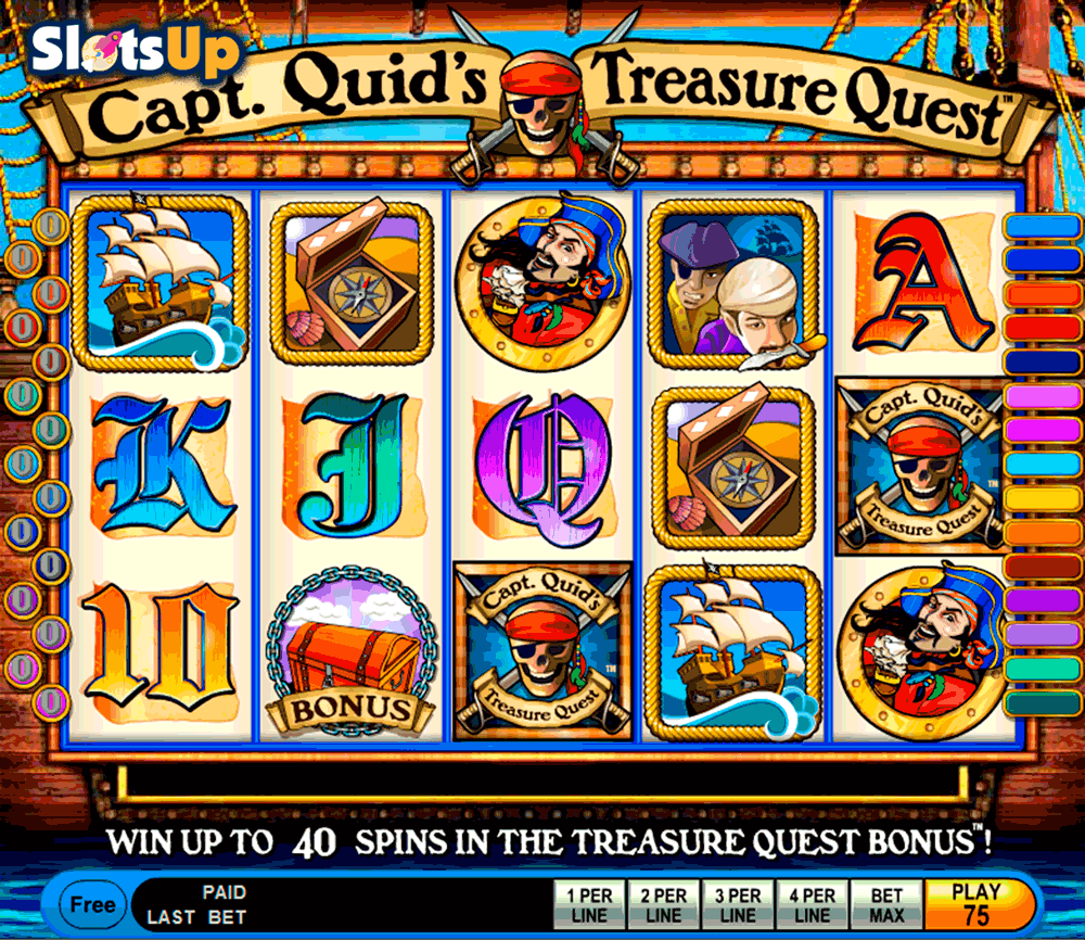 capt quids treasure quest igt casino slots