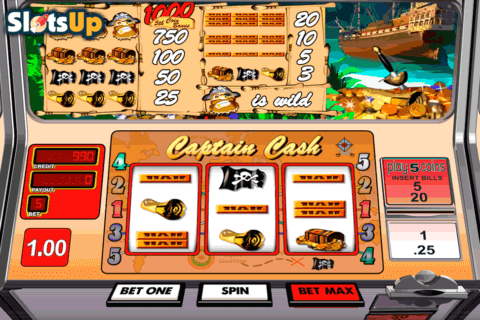 captain cash betsoft casino slots 480x320