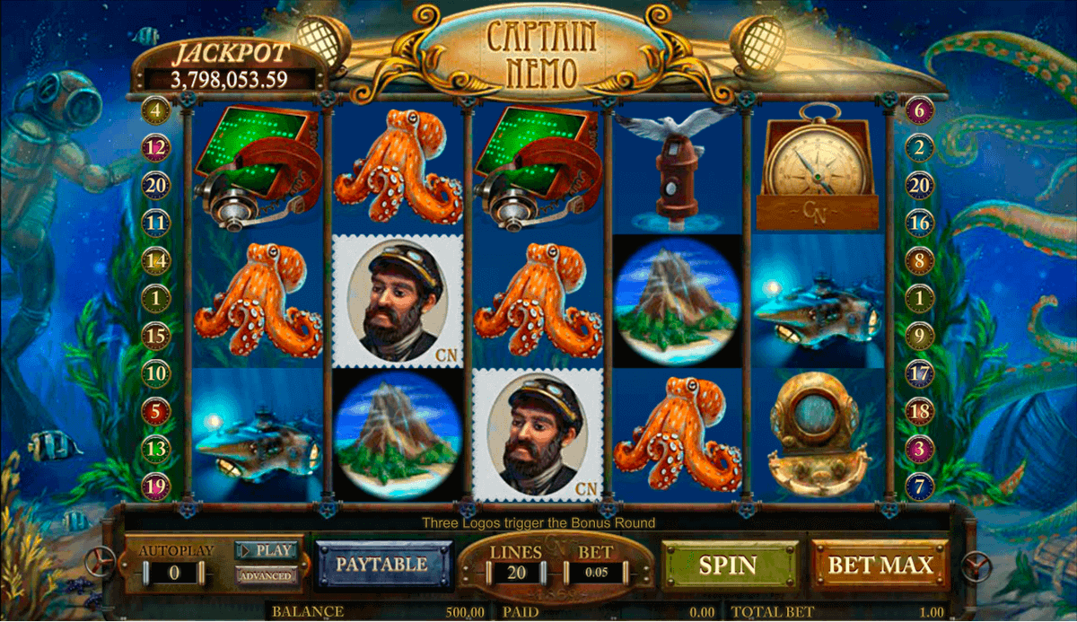Captain Nemo Slot Machine Online ᐈ Amaya™ Casino Slots