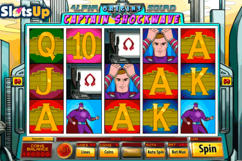 captain shockwave saucify casino slots 480x320