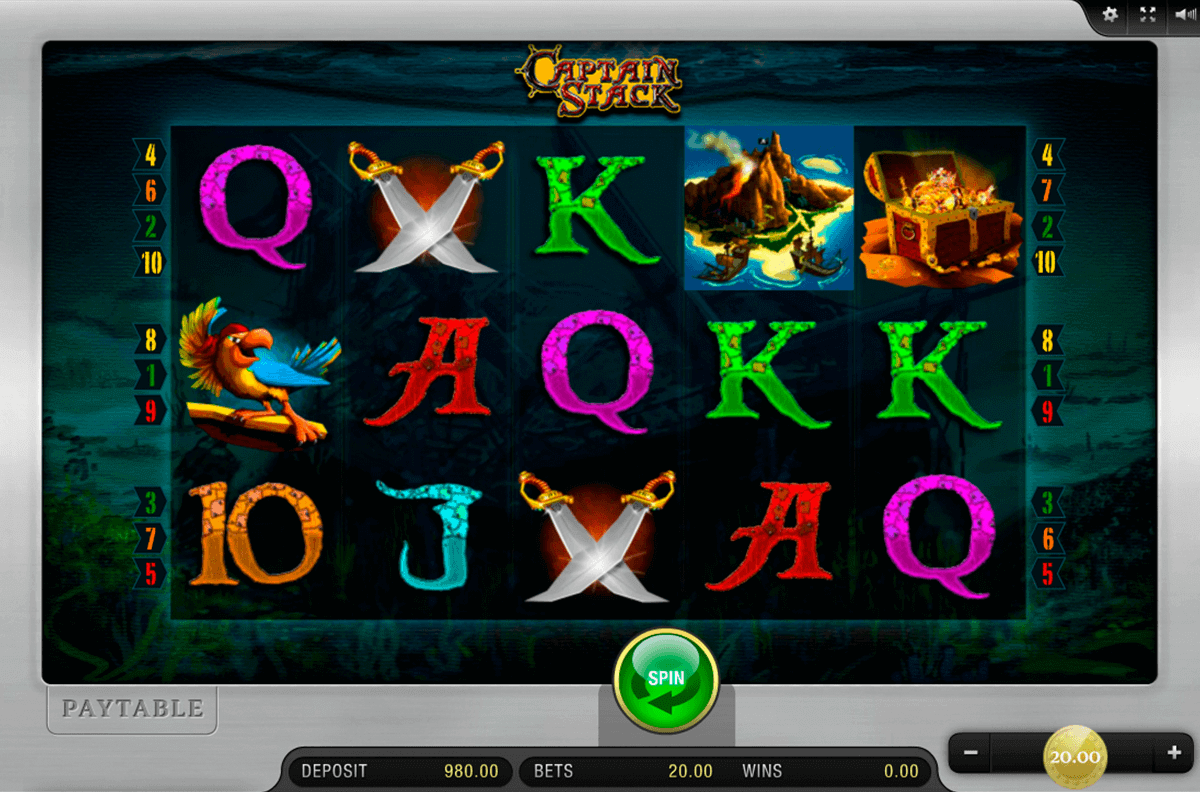 CAPTAIN STACK MERKUR CASINO SLOTS