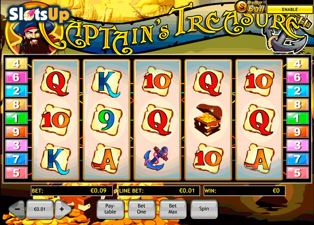 Treasure Run Slots - Play Penny Slot Machines Online