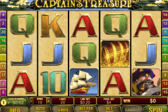 captains treasure pro playtech casino slots
