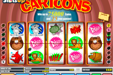 cartoons b3w casino slots