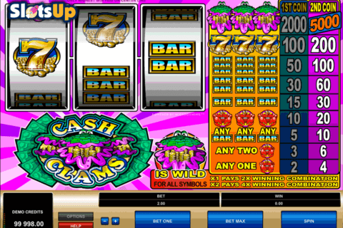 cash clams microgaming casino slots 480x320