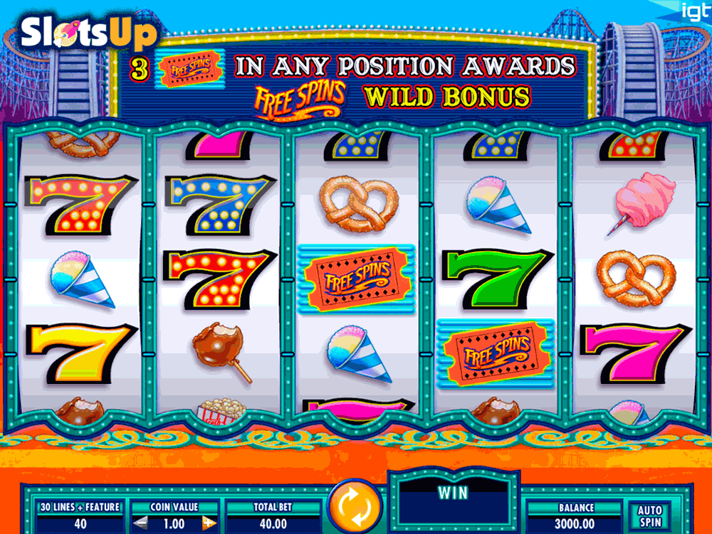Cash Coaster Slot Machine Online