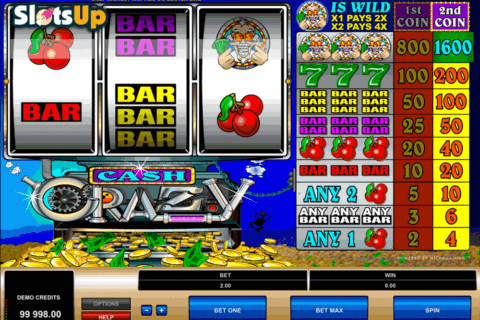 cash crazy microgaming casino slots 480x320