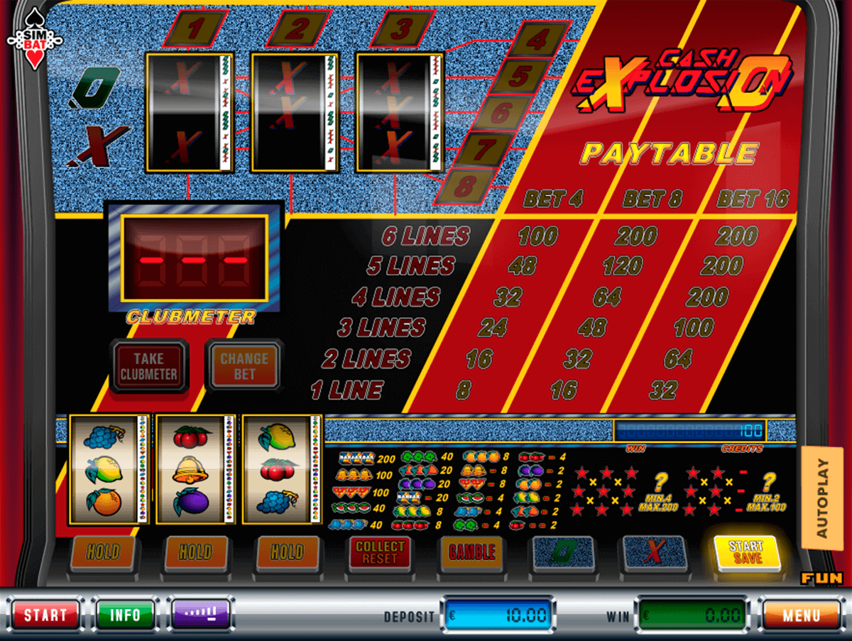 Cash Explosion Slot Machine Review & Free Online Demo Game