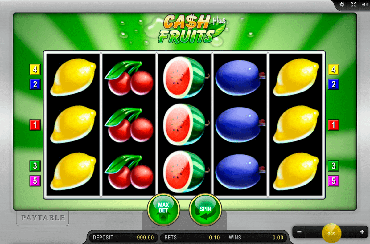 Spiele Cash Fruits Plus - Video Slots Online