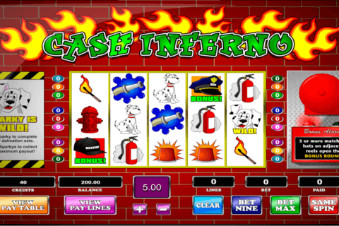 cash inferno amaya casino slots 480x320