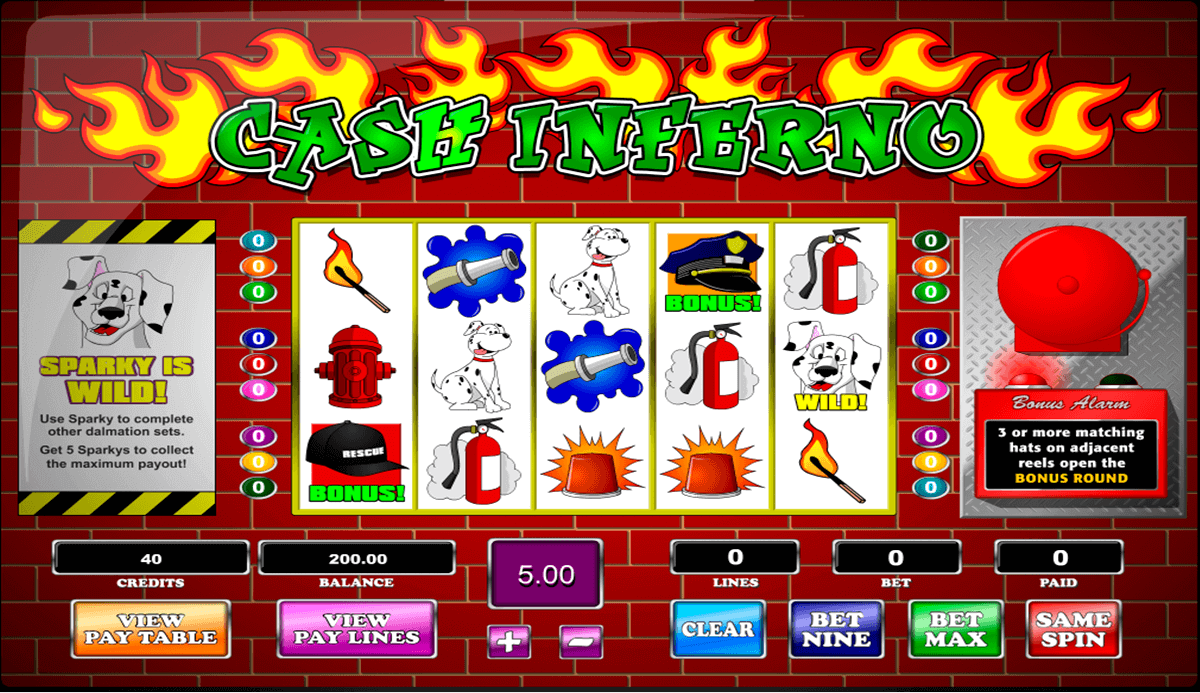 cash inferno amaya casino slots