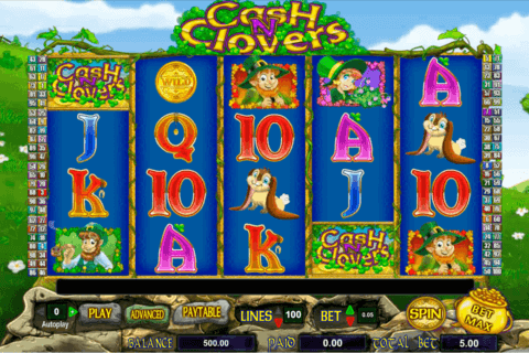 cash n clovers amaya casino slots