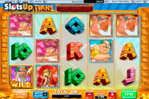 CASH OF THE TITANS ASH GAMING CASINO SLOTS