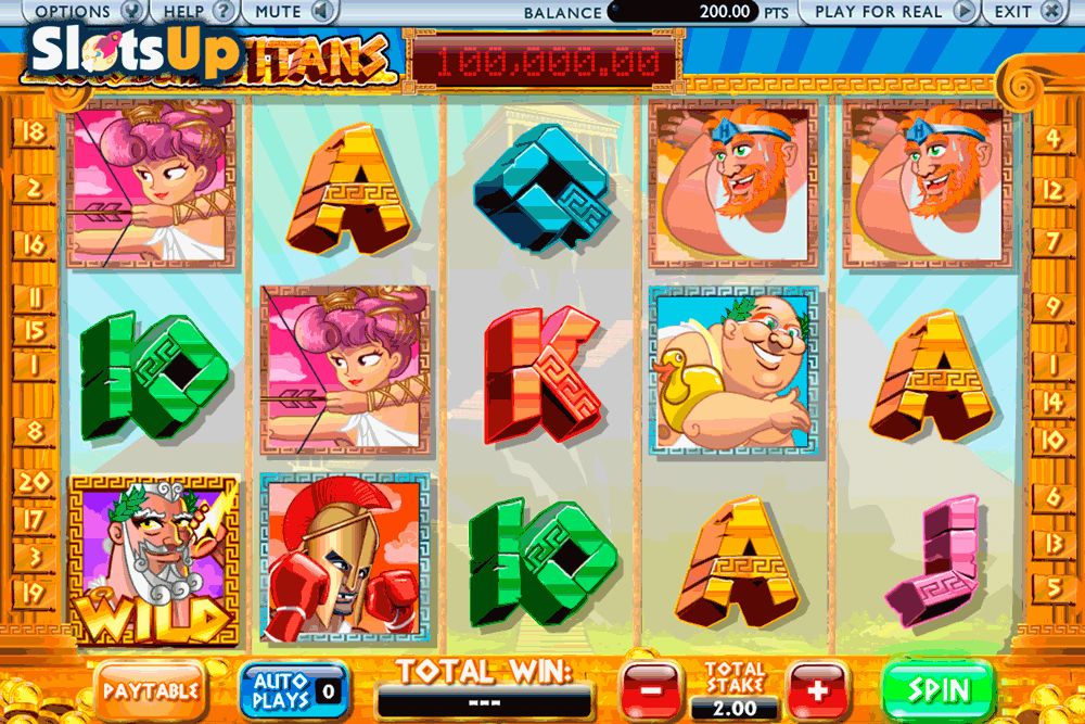 Cash of the Titans™ Slot Machine Game to Play Free in AshGamings Online Casinos