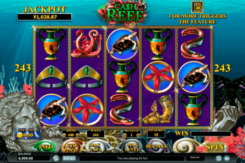CASH REEF HABANERO SLOT MACHINE