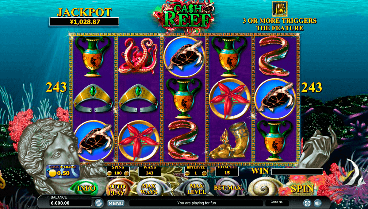 Coral Cash Slot™ Slot Machine Game to Play Free in WGSs Online Casinos