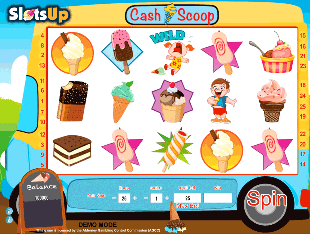 CASH SCOOP DAUB GAMES CASINO SLOTS