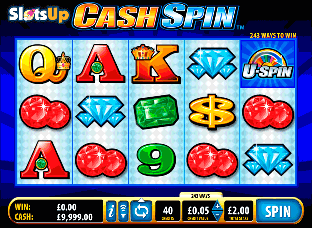 cash spin bally casino slots