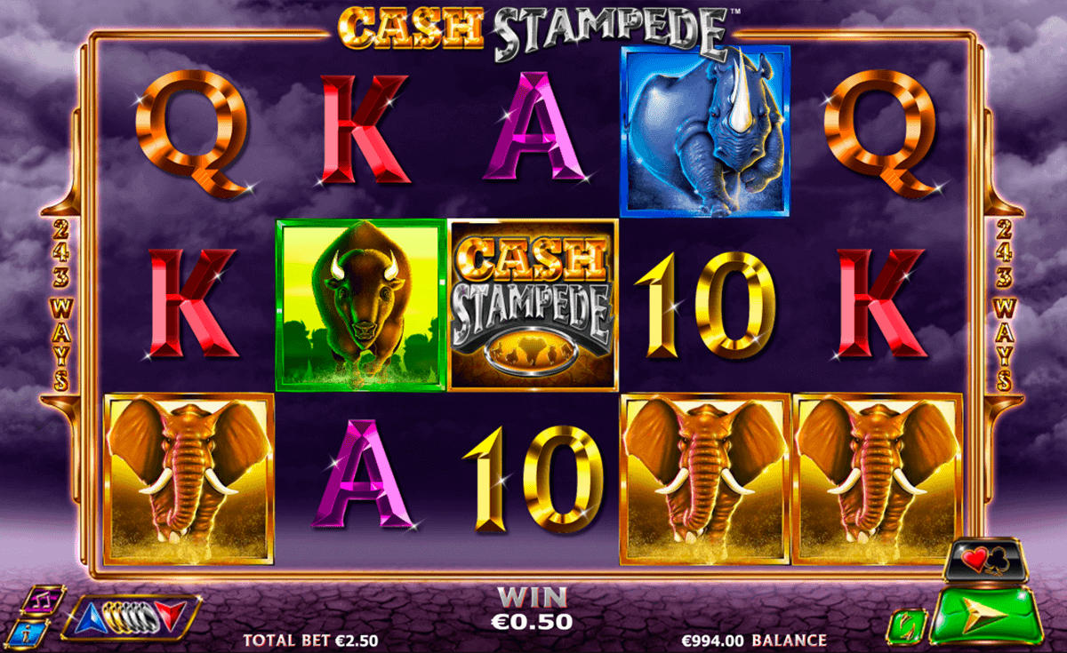 Cash Stampede Slots - Play Real Casino Slot Machines Online