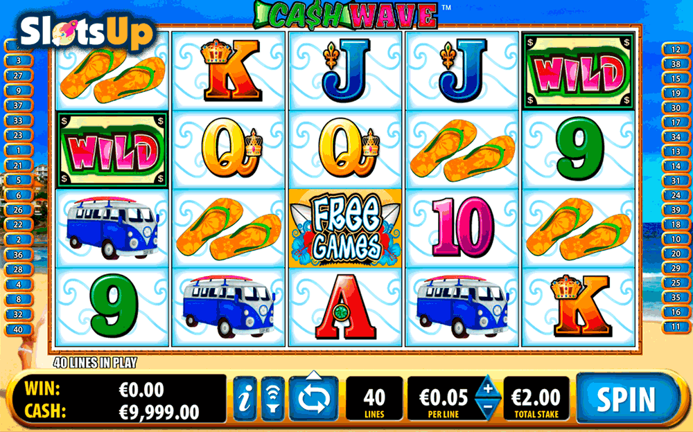 Cash Wave Slots - Ballys Cash Wave Slot Machine Available Online!