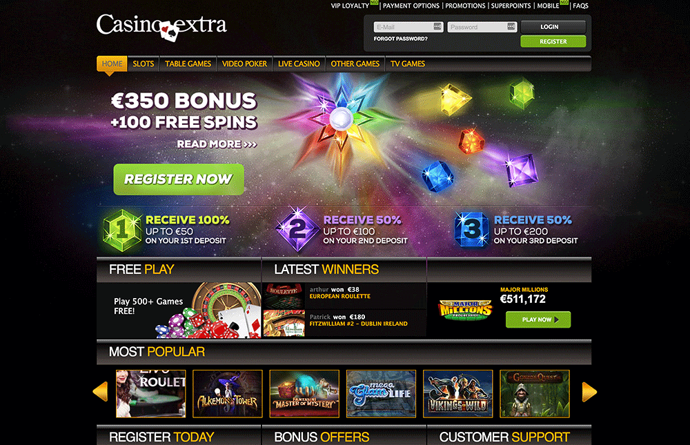 CASINOEXTRA CASINO PREVIEW