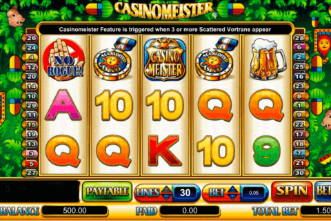 CASINOMEISTER AMAYA CASINO SLOTS