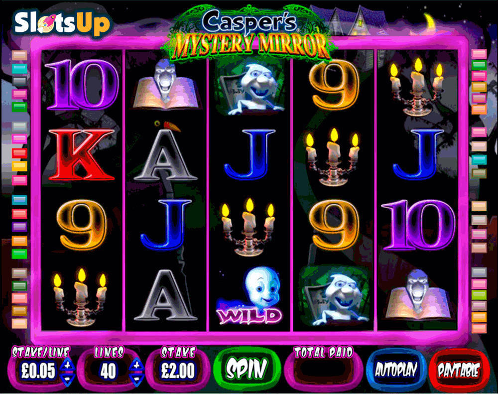 Caspers Mystery Mirror™ Slot Machine Game to Play Free in BluePrint Gamings Online Casinos
