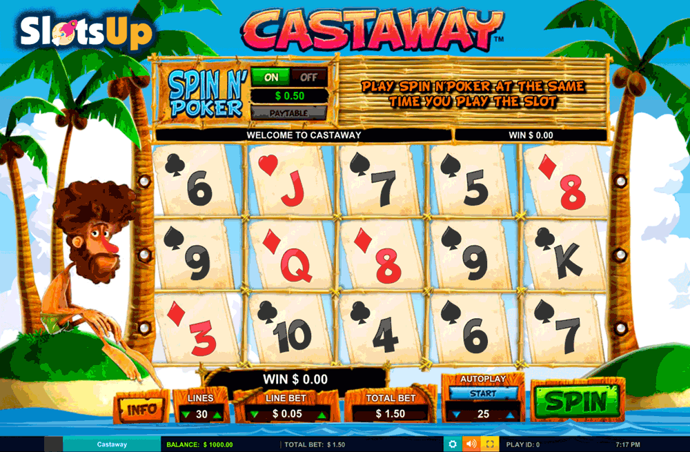 Castaway Slot Machine - Play Free IGaming2go Games Online