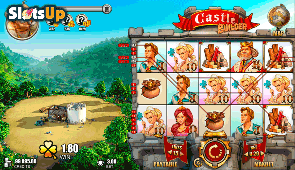 CASTLE BUILDER RABCAT CASINO SLOTS