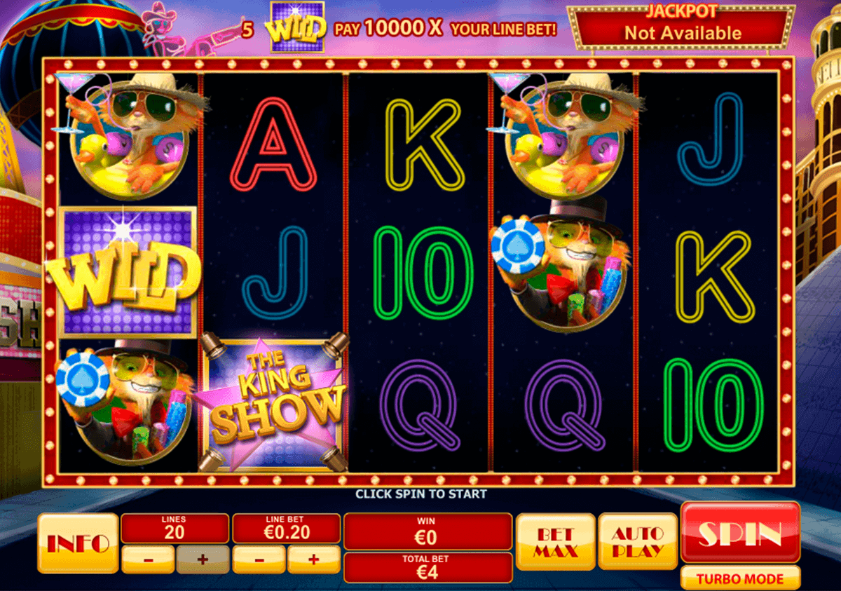 CAT IN VEGAS PLAYTECH CASINO SLOTS