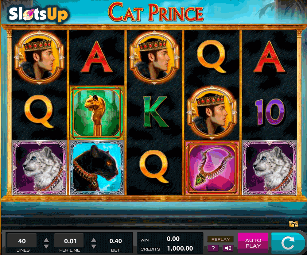 Cat Prince Slot Machine Online ᐈ High5™ Casino Slots