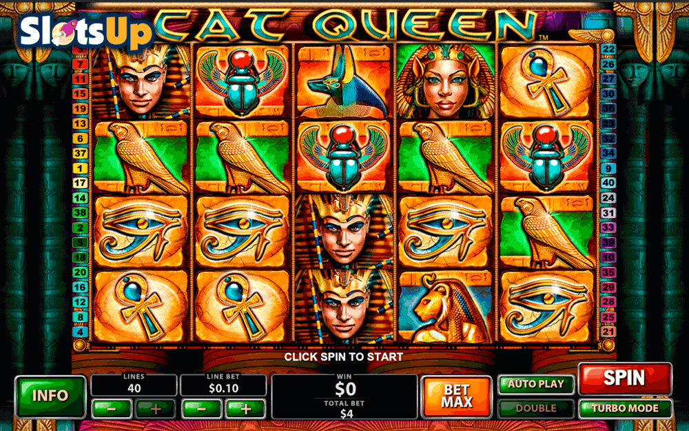 Play Cat Queen Slot at Casino.com UK