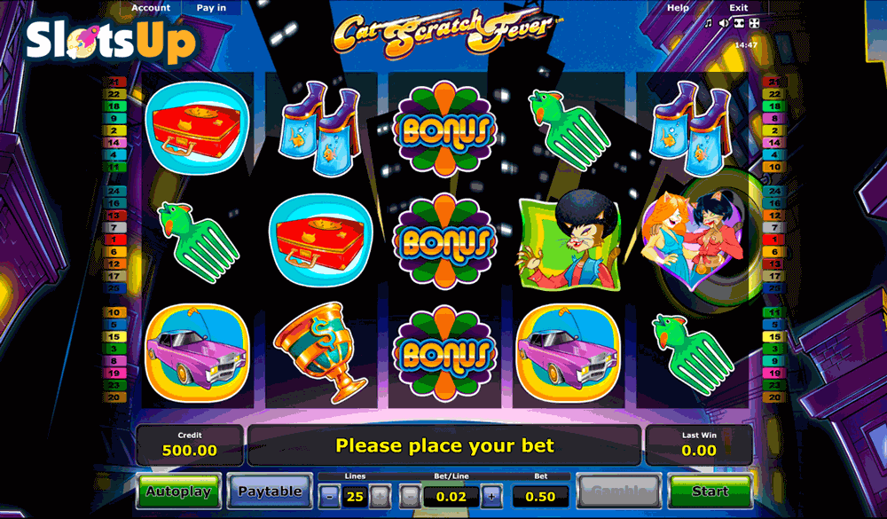 Cat Scratch Fever Slot Machine Online ᐈ Novomatic™ Casino Slots