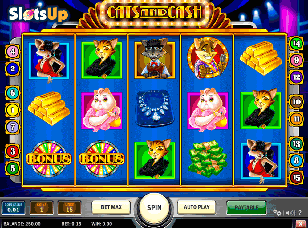 Cats and Cash Online Slot Review - Play Online Try for Free