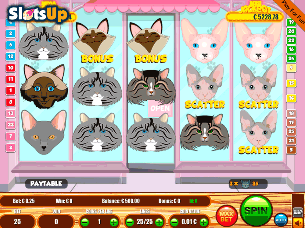 Cats Slot Machine Online ᐈ Portomaso Gaming™ Casino Slots