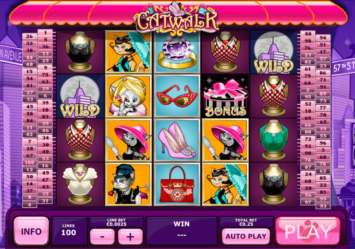 Play Catwalk Online Slot at Casino.com New Zealand